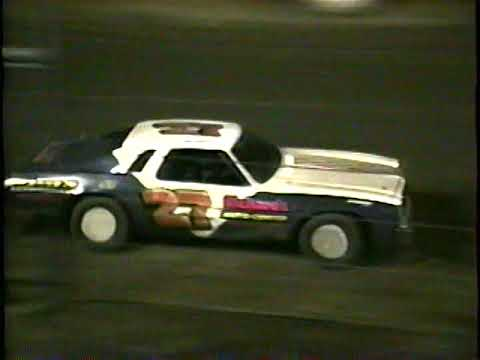 Challenger Raceway April 24, 1994 Pure Stock Feature - dirt track racing video image