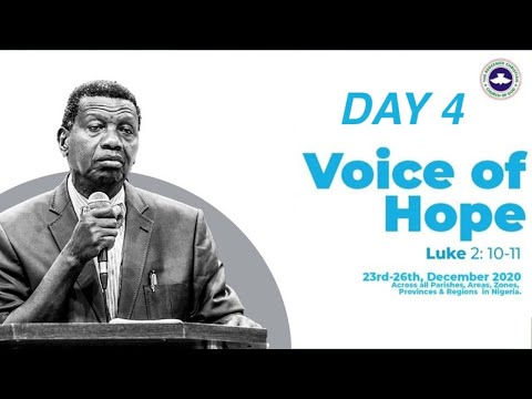 PASTOR E.A ADEBOYE SERMON - VOICE OF HOPE - REMO/BADAGRY/REDEMPTION CAMP