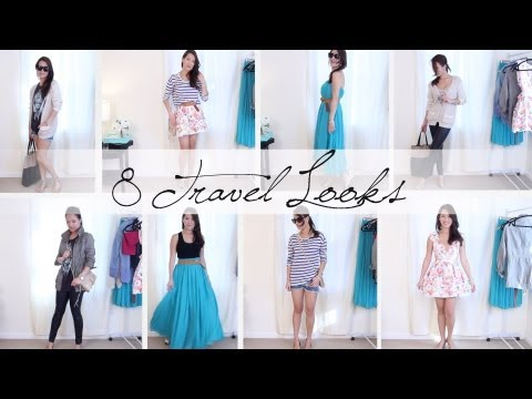 8 TRAVEL OUTFIT IDEAS | Style Mix + Match | ANN LE - UCevNJDNNIKmG13YmTqLnZ-A