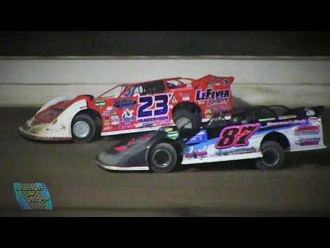 Late Model Feature 8-18-17 Winston Speedway - dirt track racing video image