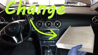 Cambio filtro aria Mercedes Classe A W176