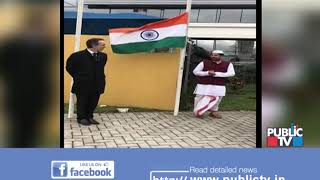 Raichur Couple Celebrate Independence Day At A School In Brazil