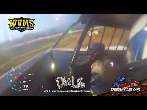 #49 Johnathan Davenport - West Virginia Motor Speedway 4-24-21 - Super Late Model - dirt track racing video image