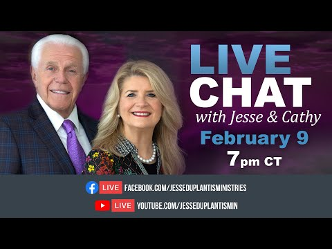 Live Chat with Jesse and Cathy