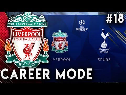 FIFA 19 Liverpool Career Mode EP18 - Another Champions League Comeback?! Super Sub Aubameyang!!