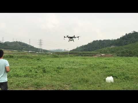 JMRRC JMR-V1200HZ Integrated arm tube 10kg payload drone testing video (2) - UCV32qPnwSQ2KvV8M-92RosQ
