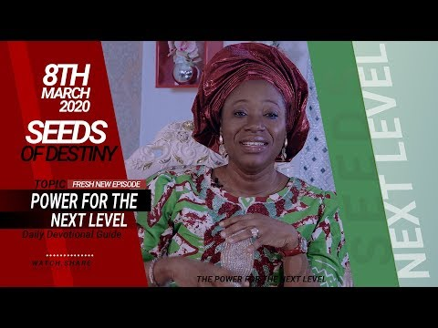 Dr Becky Paul-Enenche - SEEDS OF DESTINY - SUNDAY, 08 MARCH, 2020