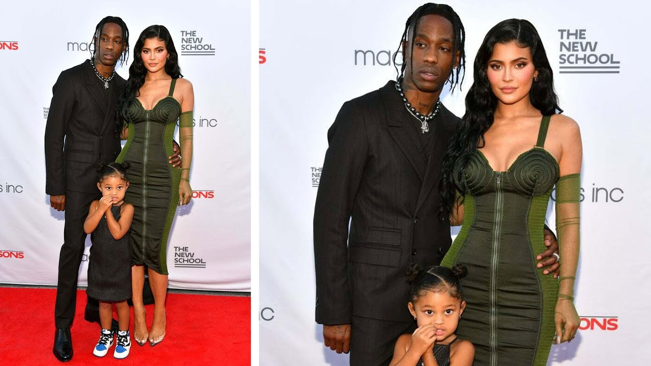 Travis Scott Says He Loves 'WIFEY' Kylie Jenner and Daughter Stormi