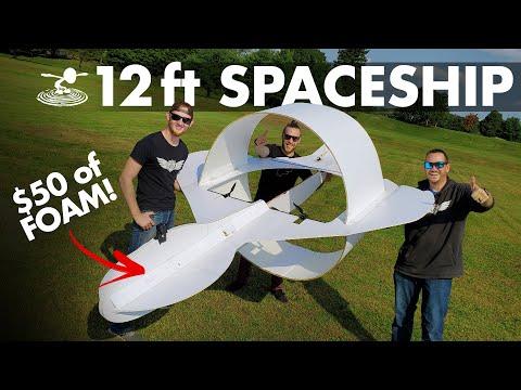 Building & Flying a Giant Spaceship thing 👽 - UC9zTuyWffK9ckEz1216noAw