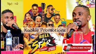 Chris Martin & D Major Live in Uganda; Bell All Star Concert Press Conference