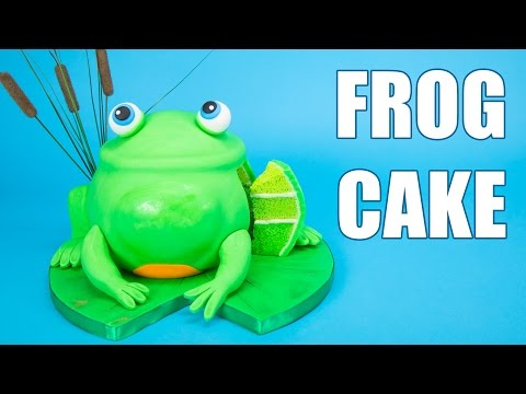 How to Make a 3D Frog Cake from Cookies, Cupcakes and Cardio