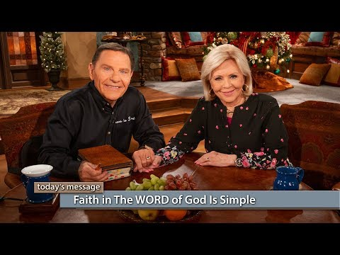 Faith in The WORD of God Is Simple