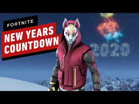 Fortnite New Years In-Game Countdown + Fireworks Gameplay - UCKy1dAqELo0zrOtPkf0eTMw