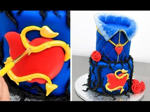 Disney EVIE Cake - How To Make  by Cakes StepbyStep - UCjA7GKp_yxbtw896DCpLHmQ