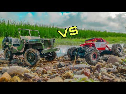 Hb Rock crawler vs RC jeep - Rock crawlers comparison - UCbqdQtjqRcQF6kIHhlIcM1A