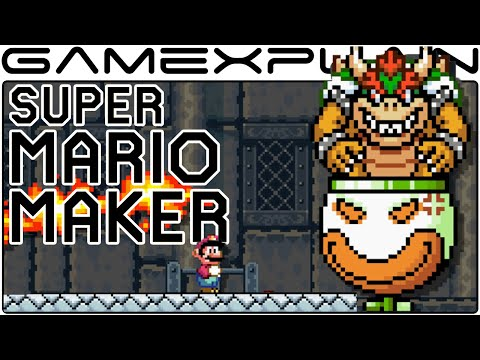 Super Mario Maker - Customizing Bowser & Bowser Jr Boss Fights - UCxcjVHL-2o3D6Q9esu05a1Q