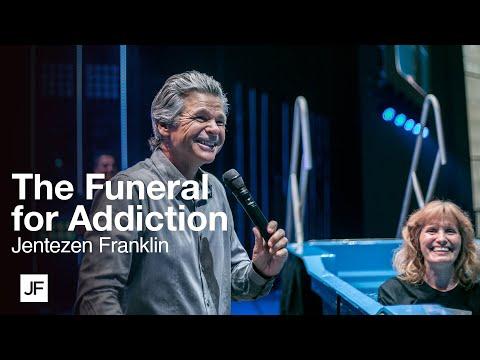 The Funeral for Addiction  Baptism Service with Jentezen Franklin