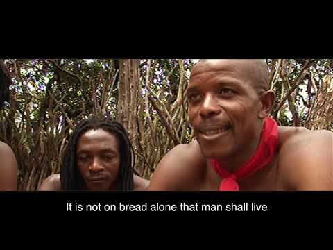 NOT ON BREAD ALONE / LECHEM LEVADO / HEBREW - ENGLISH (Deu 8:3)