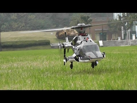 Flight Review - RC Airwolf with 5 blades main rotor head - UCsFctXdFnbeoKpLefdEloEQ