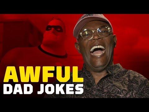 The Incredibles 2 Cast Reads Awful Dad Jokes - UCKy1dAqELo0zrOtPkf0eTMw