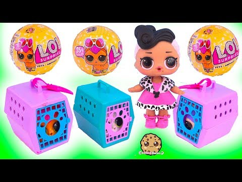 LOL Surprise Pets Adoption - Mystery Blind Bag Toys Video - UCelMeixAOTs2OQAAi9wU8-g