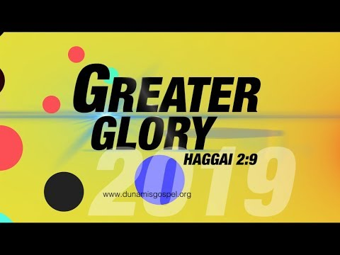FROM THE GLORY DOME: JANUARY 2019 GREATER GLORY (DAY 16) 22.01.2019