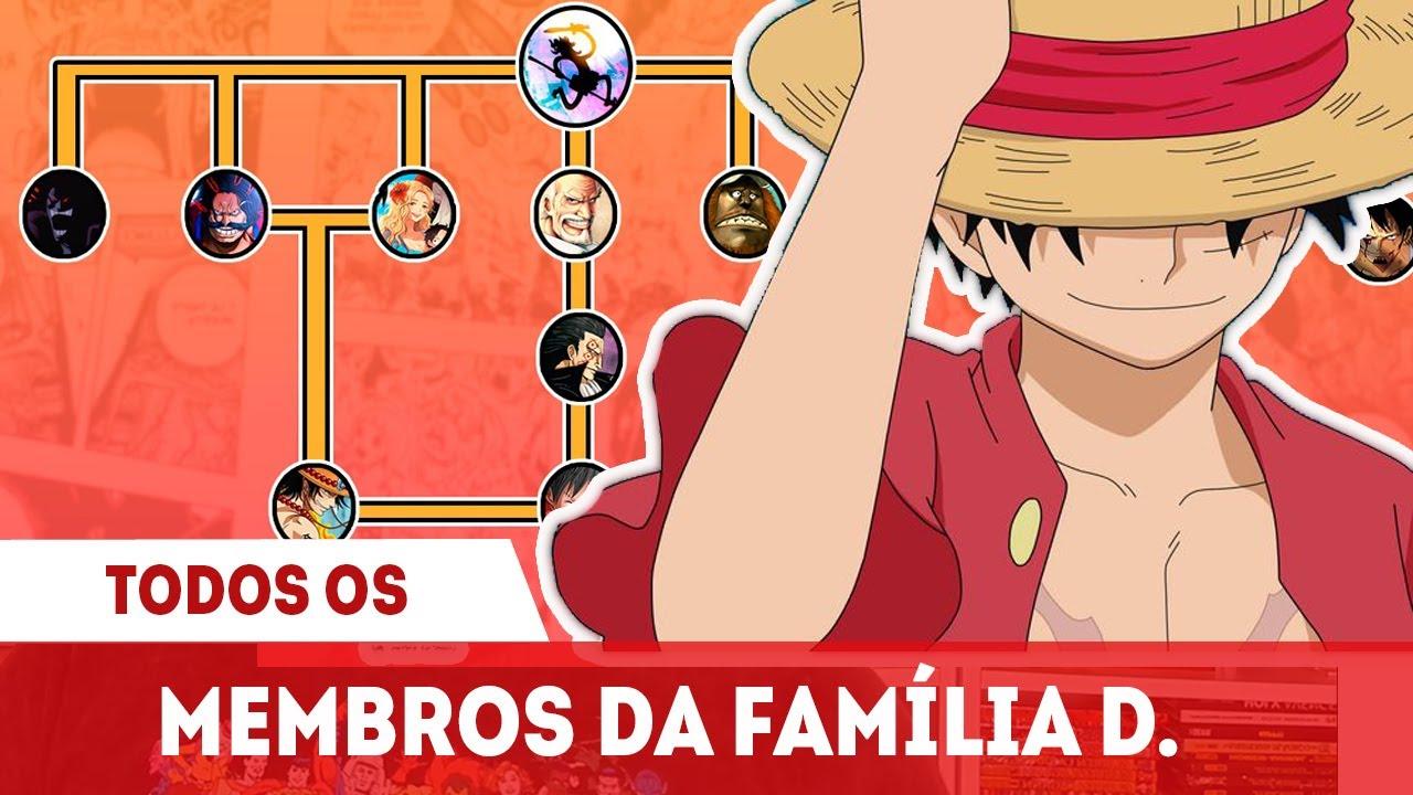A ÁRVORE GENEALÓGICA DA FAMILIA D. EXPLICADA – TODOS MEMBROS CLÃ D. – ONE PIECE