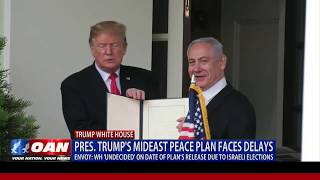President Trump's Mideast Peace Plan faces delays