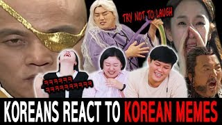 Koreans in their 30s React To KOREAN MEMES