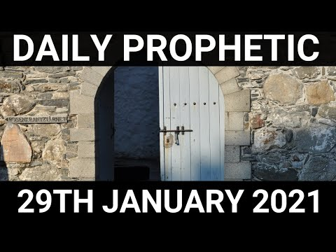Daily Prophetic 29 January 2021 5 of 7