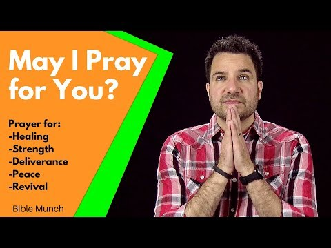 May I Pray for You?    Prayer request:  Prayer for Healing, Strength, Deliverance, and Peace