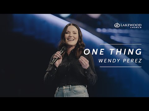 Wendy Perez - One Thing