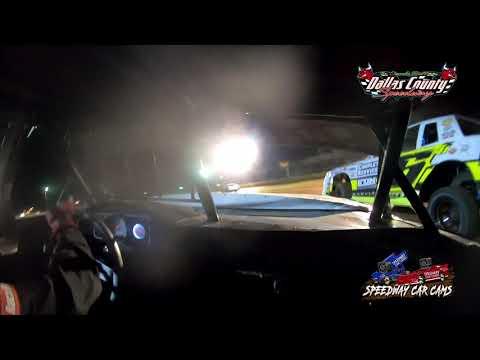 #21p Darren Phillips - Usra Stock Car - 7-9-2021 Dallas County Speedway - In Car Camera - dirt track racing video image