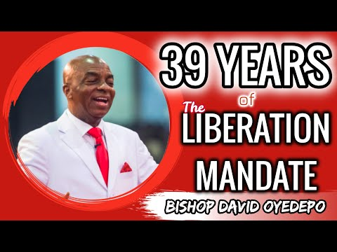 Bishop Oyedepo39th Yr.of The Liberation Mandate May 2,2020 God's Gifts Impartation Of The Mantle
