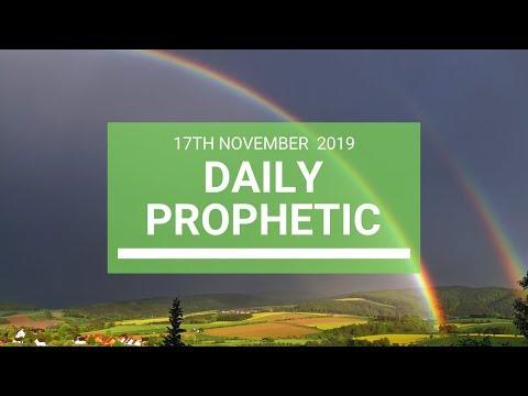 Daily Prophetic 17 November Word 6