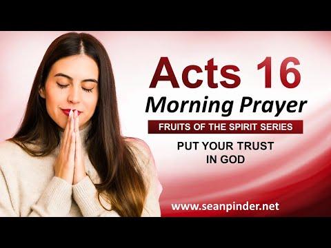 Put Your TRUST in GOD - Morning Prayer