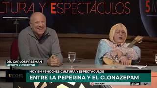 5 NOCHES | DOÑA JOVITA Y CARLOS PRESMAN ENTRE LA PEPERINA Y EL CONAZEPAM