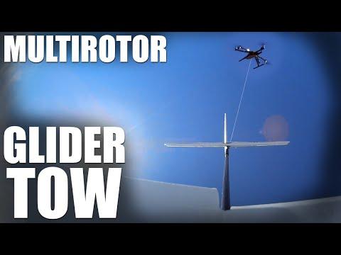Flite Test | Multirotor Glider Tow - UC9zTuyWffK9ckEz1216noAw