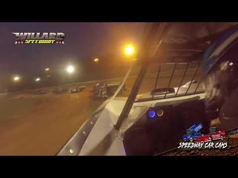 #69 Kobe Gallion - Crate Late Model - 8-7-21 Willard Speedway - In-Car Camera - dirt track racing video image