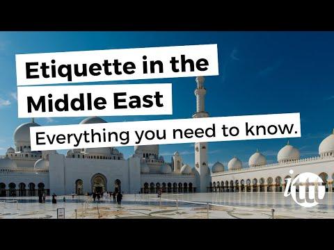 Etiquette Middle East