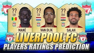 FIFA 20 - LIVERPOOL PLAYERS RATING