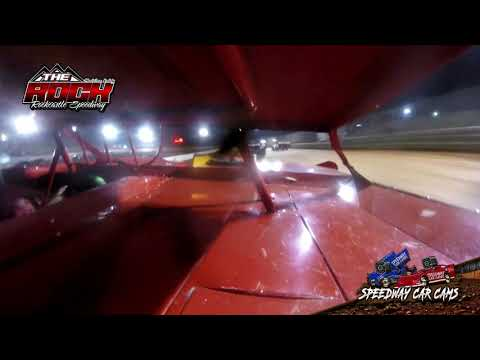 #81 David Lucas - Crate Late Model - 10-2-21 Rockcastle Speedway - In-Car Camera - dirt track racing video image