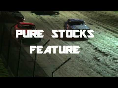 CMS PURE STOCKS JULY 21st, 2018 - dirt track racing video image
