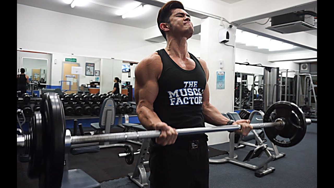 [Gym] Building Guns! (voice-over with tips)