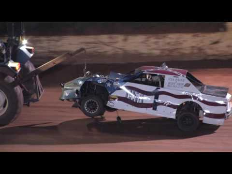 Race for Tata's Mini Stocks @ 411 Motor Speedway Oct. 19 , 2013 - dirt track racing video image