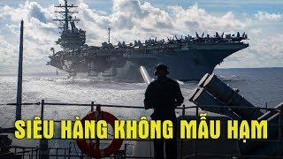 USS Ronald Reagan hùng dũng tiến vào Biển Đông, tàu TQ chạy tán loạn trước Hàng không Mẫu hạm Mỹ