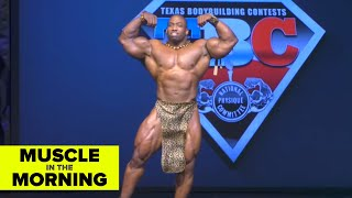 CEDRIC MCMILLAN GUEST POSING! Muscle in the Morning (7/2/19)