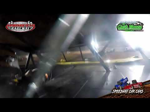 #26 Mark Daye - Cash Money Late Model - 9-22-2020 Springfield Raceway - In Car Camera - dirt track racing video image