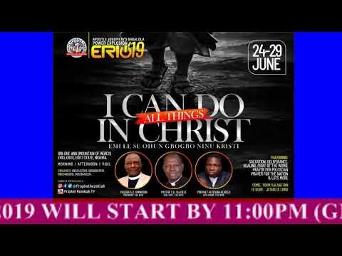 DAY 5 (AFTERNOON SESSION) 3 - Apostle Joseph Ayo Babalola Power Explosion 2019.