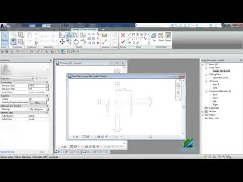 L5-Analytical View-Column Family-Column RFT-BIM Revit Course|Aldarayn Academy| م.محمد أمين